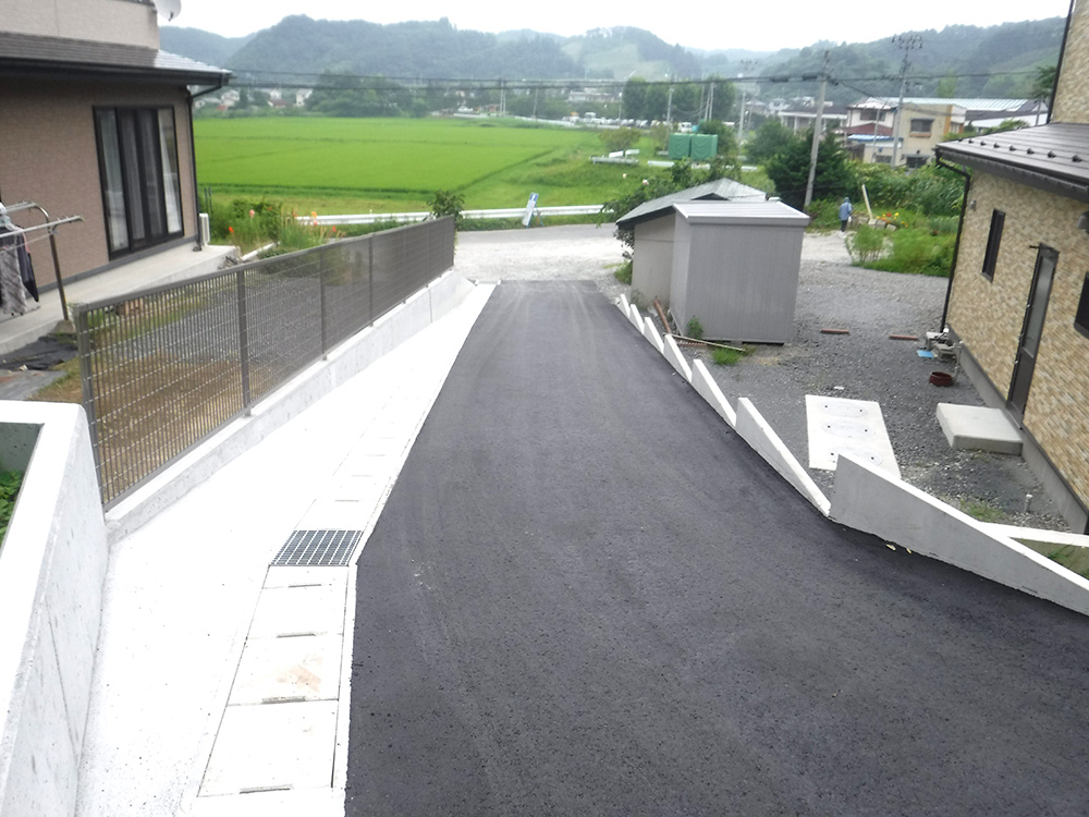 松山 H邸 外構工事・水回り工事